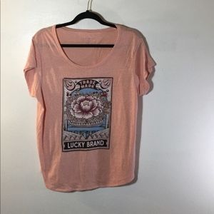 Lucky brand extra large women's T-shirt.